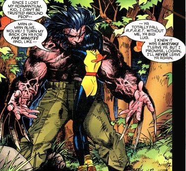 Logan confortera Jubilé dans sa décision de rejoindre Génération X, l'encourageant de son mieux.