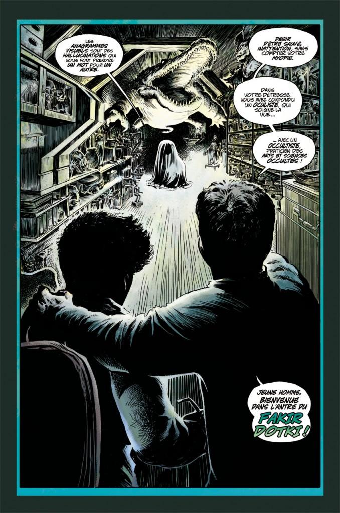 Bienvenue chez l'Ancien dit l'étrange personnage au Dr Strange
