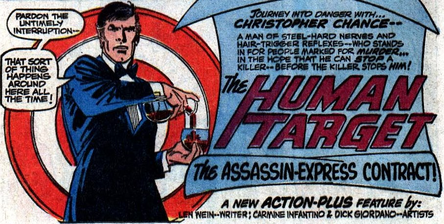 Première apparition de Christopher Chance, le gentleman imitateur
