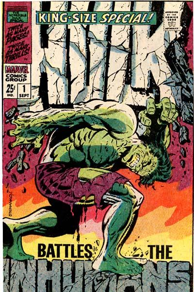 Retour aux sources : Hulk par Marie Severin dans les années 70