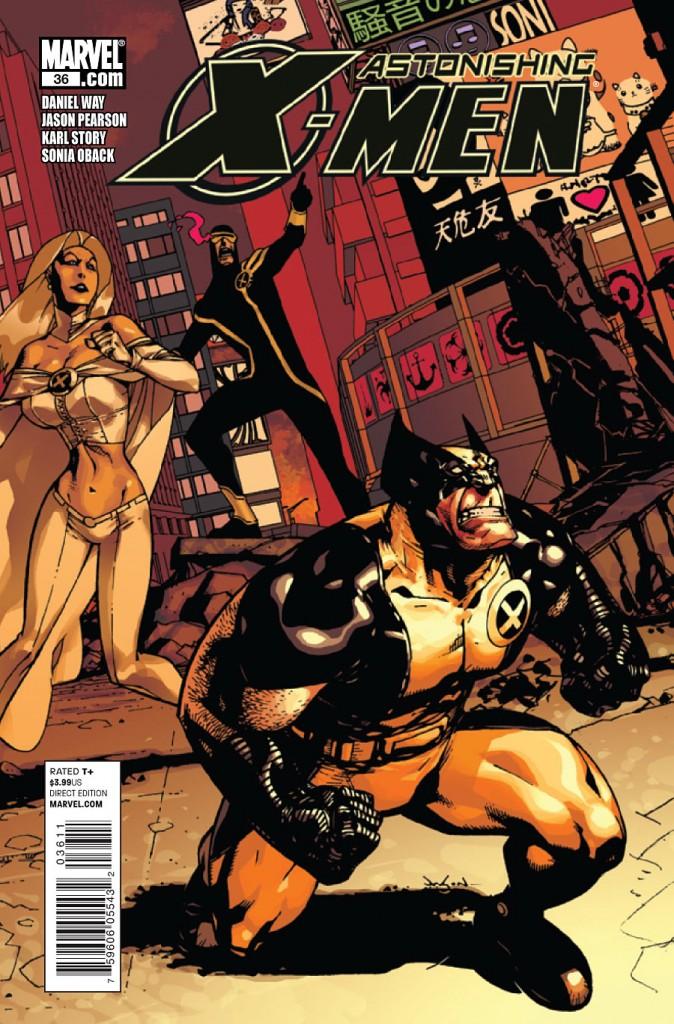 Astonishing X-men quelques numéros après : du dessin haut de gamme isnt it ?