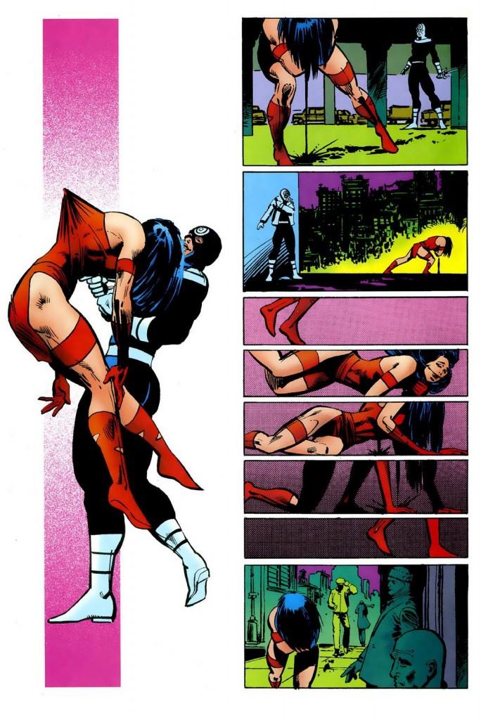 Une séquence légendaire du Comic Book