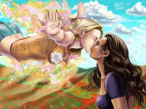 Karolina et Xavin : L'amour libre pour une série d'une finesse incomparable, trônant à des années lumière au dessus des autres.