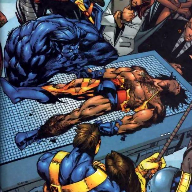 Wolverine mort....Mais non c'est une blague, euh, un skrull !