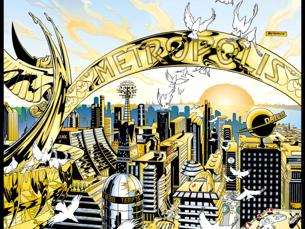 Metropolis, la resplendissante