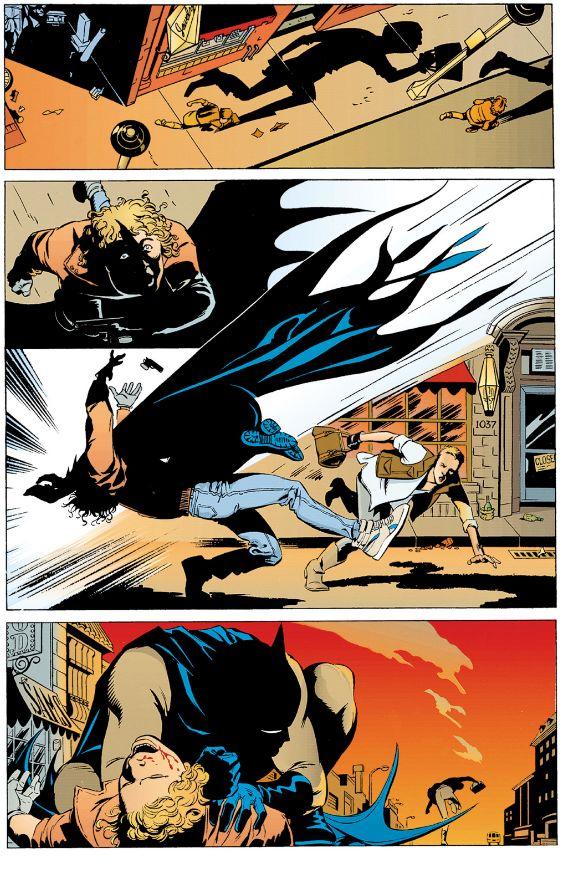 Un Batman à la fois simple et inquiétant