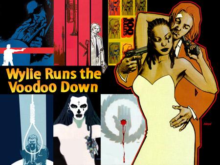 Le titre de cet arc se passant à la Nouvelle Orleans avec un trompettiste parmi les personnages secondaires est une référence à l'album de Miles Davis «Miles Runs the Voodoo Down»