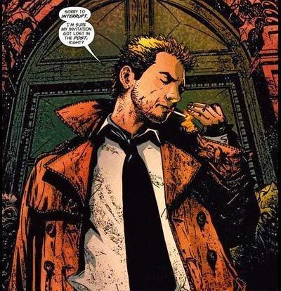 John Constantine: Entre Humfrey Bogart et… Sting!