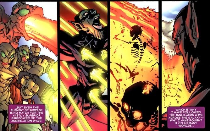 On continue les présentations ? Voici Kl'rt, alias le Super-Skrull !