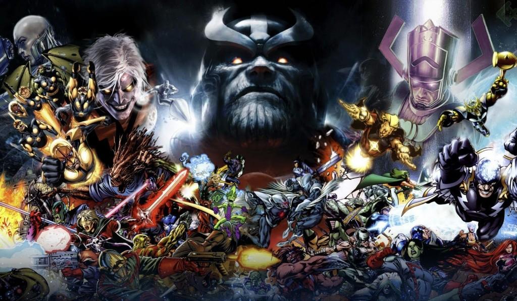 L'univers Marvel cosmique : Rien à envier aux terriens !!!