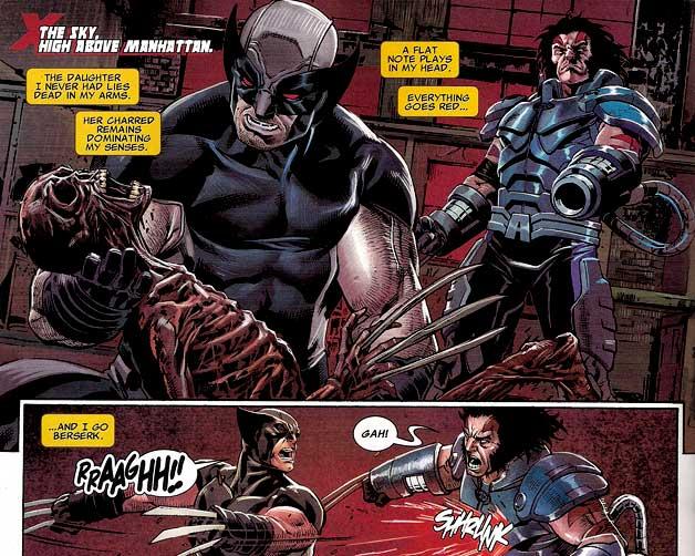 Wolverine vient de tuer sa propre fille... Ils sont beaux nos héros !