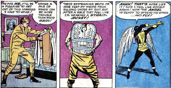 Même chez Stan Lee, Angel est déjà entravé