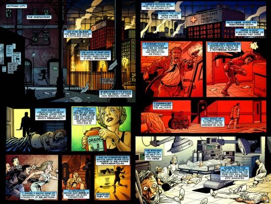 Dans les derniers chapitres, un vent de folie souffle sur Gotham et la violence atteint son paroxysme
