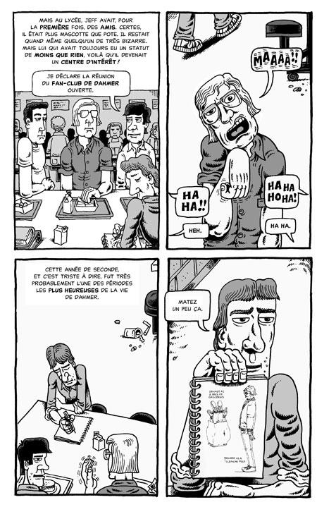 Le fan-club de Dahmer (avec un dessin d'époque)