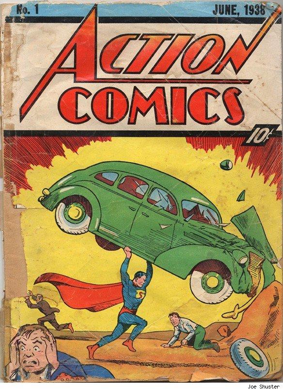 Un homme qui soulève des bagnoles, une foule terrorisée ? Le premier Superman laisse planer le mystère : héros ou vilain ?