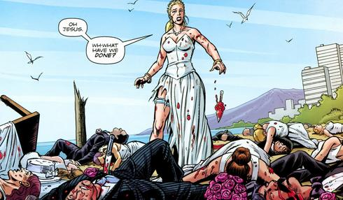 Trop provoc' et toc: le mariage qui finit en bain de sang !