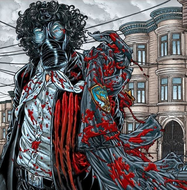 Du sang et de la violence, avec des héros masqués