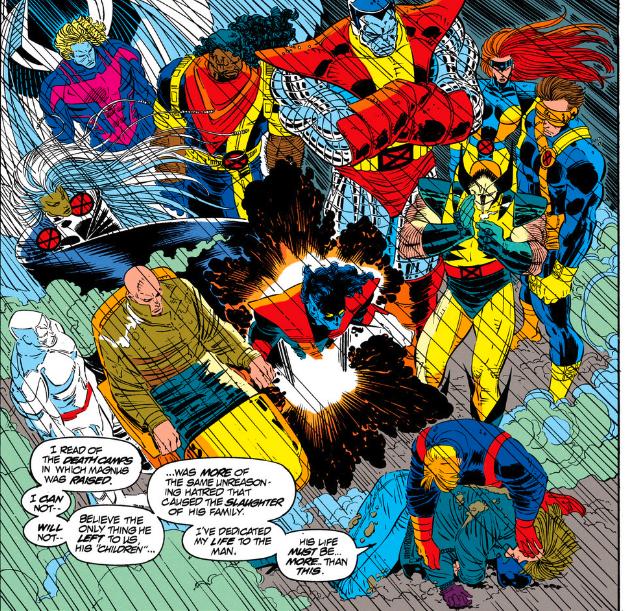 Une humaine assassinée, un acolyte en proie au doute et des X-Men écrasés par les responsabilités  dans une plongée signée JrJr
