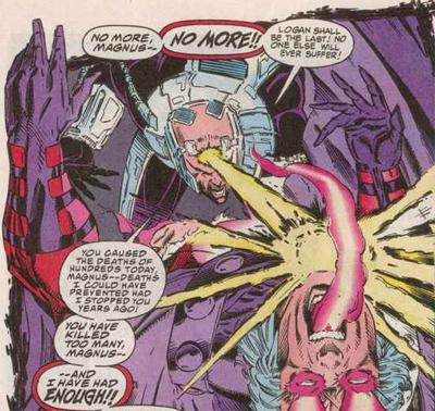 Xavier trahit son rêve de pacifisme et détruit son vieil ami ! La vache !
