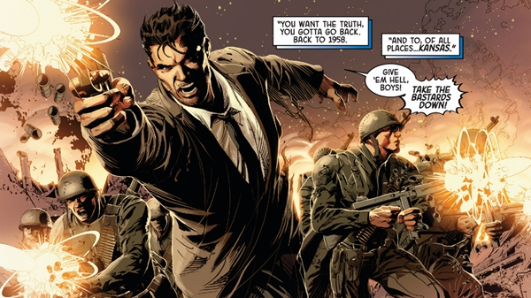 Original Sin est centré autour de Nick Fury