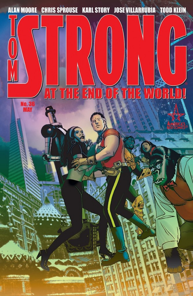 Le grand final d'ABC Comics, c'est chez Tom Strong…