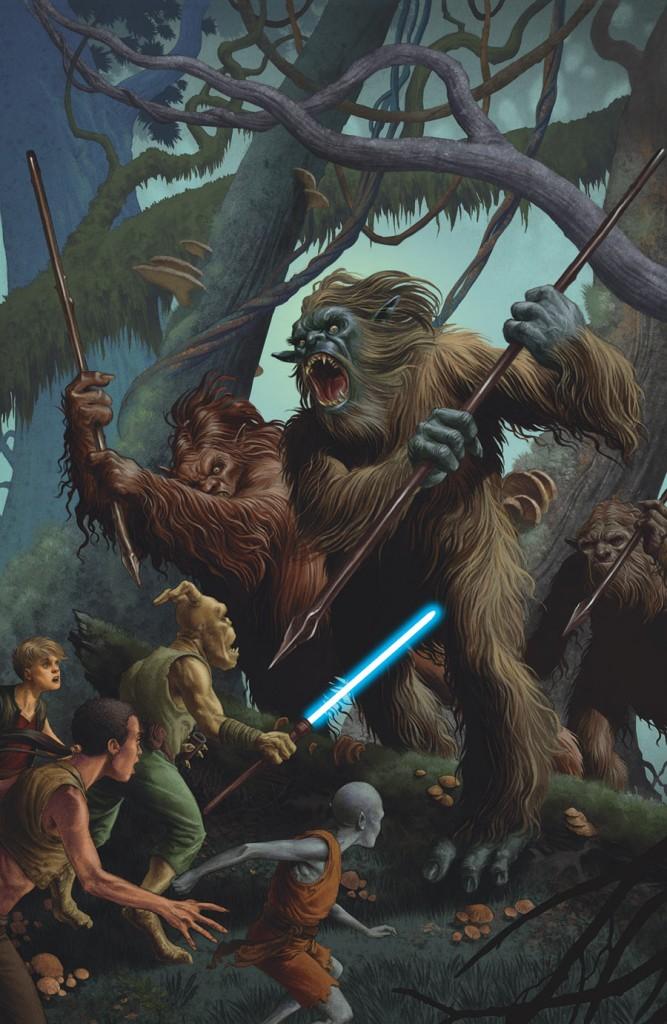 Du pur esprit Star Wars, même si l'on ne reconnait aucun personnage!
