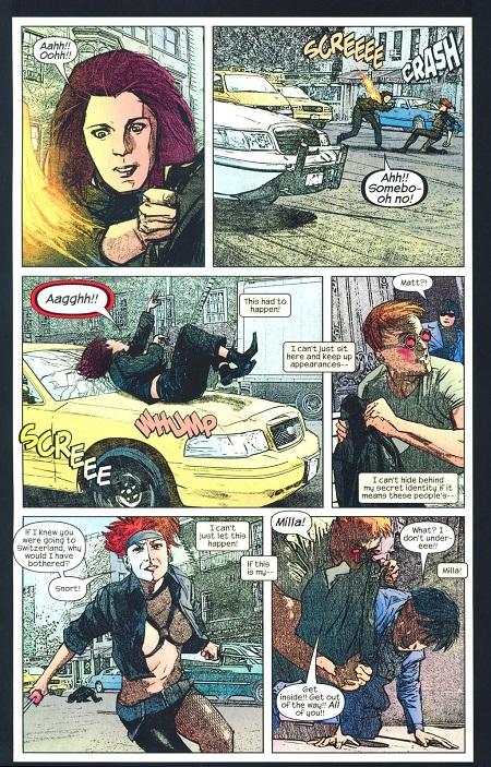 Pendant ce temps, Jessica Jones est aussi chez Daredevil!