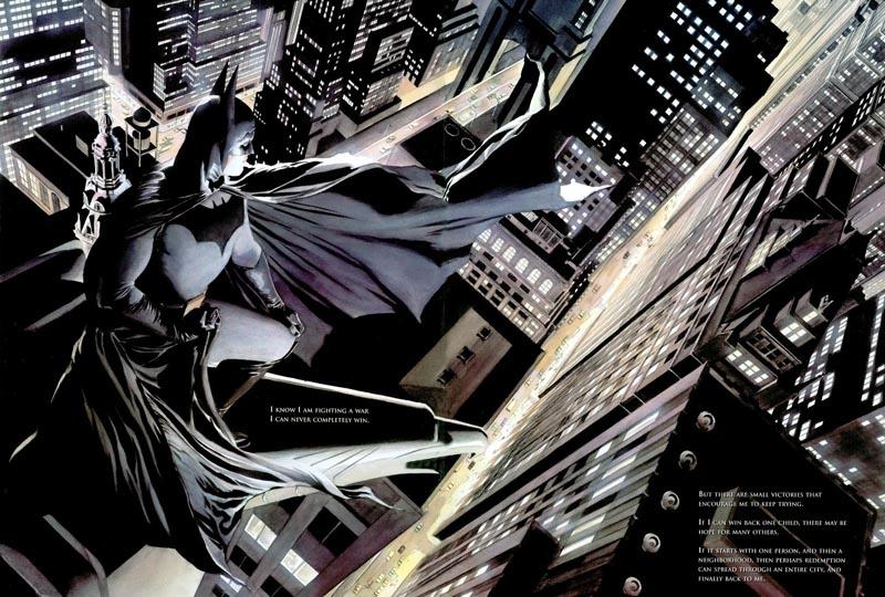 Une vue imprenable sur Gotham et son Dark Knight