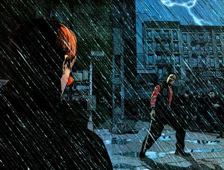 Sans identité secrète, pas moyen de se balader seul sous la pluie sans se faire aborder par les yakuzas…