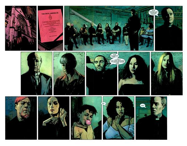 Scène d'intro de «Decalogue»: parmi ces gens se cache un adepte de la Main, sauras-tu le retrouver, perspicace lecteur de Bruce Lit?