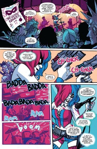 Harley Quinn version Becky Cloonan