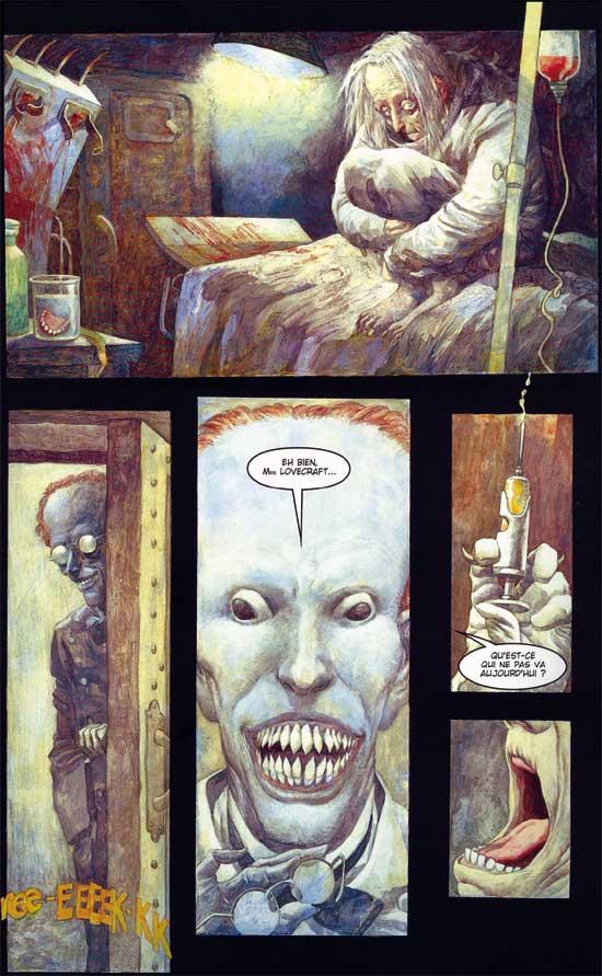 Le comics suinte la folie et la terreur