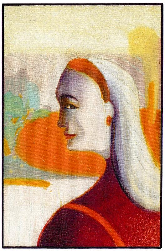 Le portrait de la tante d'Ambra