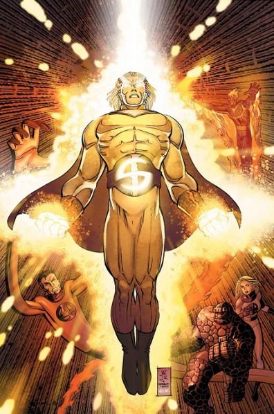 Sentry, l'homme-soleil!  ©Marvel Comics