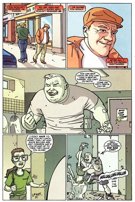 Non mais qu'est-ce qu'il est méchant avec les super-héros ce Garth Ennis !!!