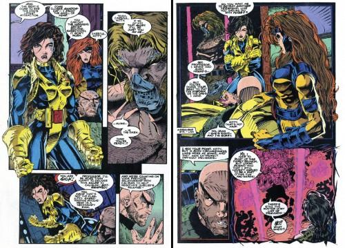 Une histoire que j'adore : un marvel team-up drôle et rocambolesque entre Kitty et Sabretooth