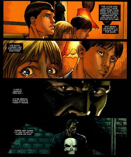 Le Punisher : faiseur de veuves…et d'orphelins