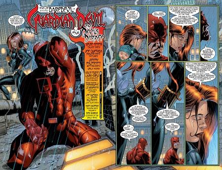 Daredevil, tiraillé entre la veuve et l'orphelin…