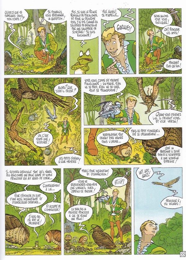 Le prince-grenouille Romuald a un langage assez fleuri