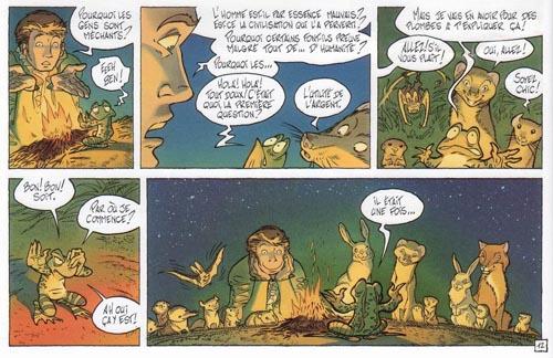 Une grenouille aux questions existentielles…