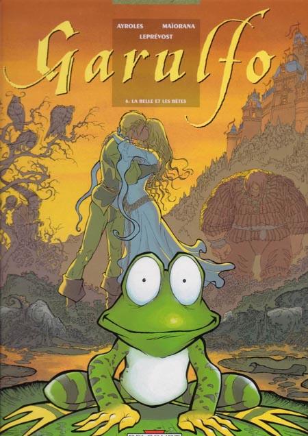 Prince, princesse et grenouille revisités dans une BD pas mièvre du tout