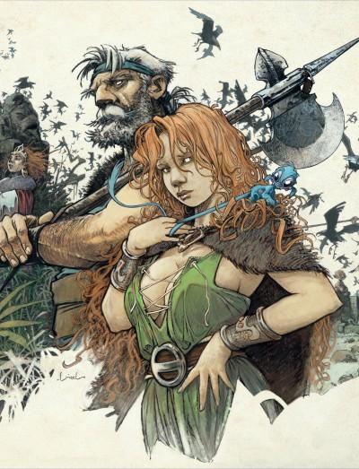 Un vieux guerrier et une jolie rouquine et pourtant, nous ne sommes pas chez les X-Men !