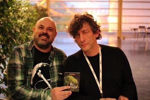 Neil Gaiman en toute confiance avec Patrick