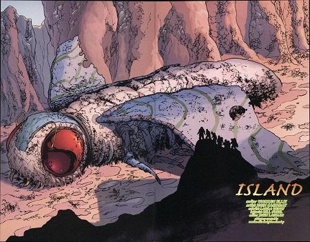 Et ça continue avec Mothra, la mite géante préhistorique…