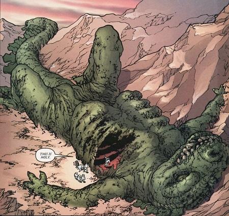 …et Godzilla, le plus grand des Caïju (les monstres japonais) !