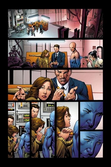 Quelle drôle d'idée: Tony Stark, un homme bleu!