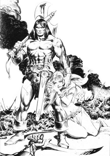 Le Conan définitif de John Buscema: A genou, femme!