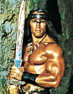 Tout droit sorti des pages d'un livre ou d'un comic book, voici Conan en chair et en os!
