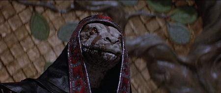 Le maléfique Thulsa Doom: Une vraie vipère!