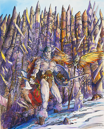 Son meilleur dessin de Conan, dixit Barry Windsor Smith lui-même